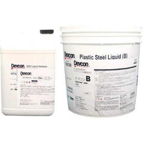 (株)ITWパフォーマンスポリマー デブコン B 25lb(11.3kg)鉄分・液状タイプ 10230 JP
