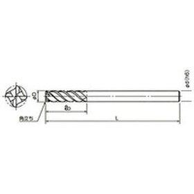 【メーカー在庫あり】DZSOCL4080208-1555ダイジェット工業(株)ダイジェットスーパーワンカットエンドミル