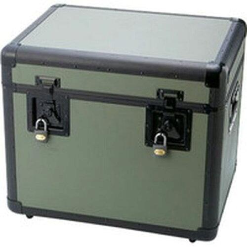 TAC540OD 416-2986 トラスコ中山(株) TRUSCO 万能アルミ保管箱 オリーブドラブ 543X410X457