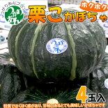 青森県産ホクホク「栗こかぼちゃ」4個入