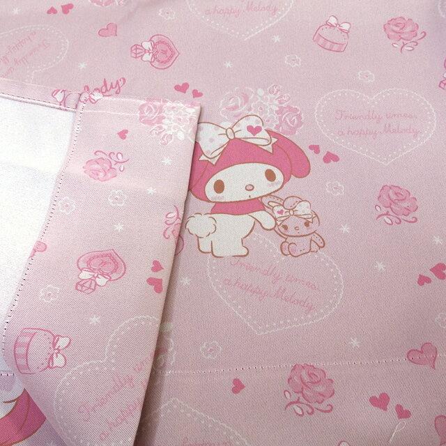 日本製 マイメロディ1級遮光・遮熱カーテン2枚組カーテン100×135(2枚セット)