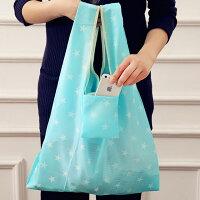 最新入荷!折りたたみエコバッグショッピングバッグ手提げバッグスターボーダードットお買い物袋鞄星買い物バッグ折り畳みコンパクト収納【メール便送料無料】