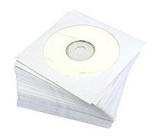 紙製CDケース100枚入り(ホワイト)PAPERSLEEVEWH【YDKG-kd】【smtb-KD】[メール便発送、送料無料、代引不可][便利]