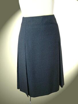 薄手ウールプリーツスカート【ロイヤルメード カラーグレー】7号  お受験スカート グレー 謝恩価格品
