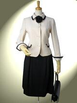 高品質完全日本製二重織ダブルウール配色ショールカラージャケットとふわりシルエットのスカート