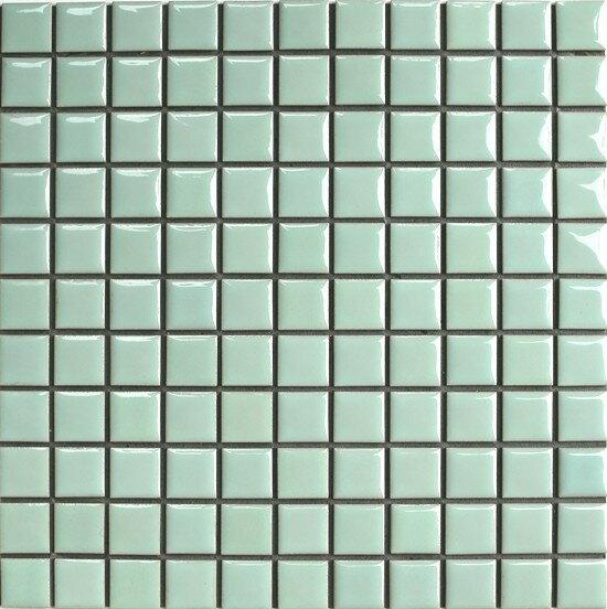 【美濃焼タイル】25mm角 N-7 ウォーター 昔ながらのモザイクタイル