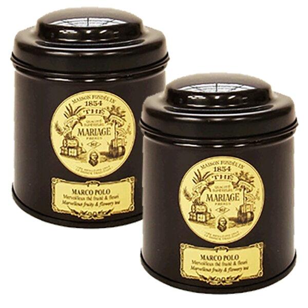 マリアージュフレールマルコポーロ100g2缶セット(100g×2)茶葉リーフティ紅茶フランス