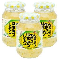 はちみつレモン大長レモンで作った570g3本セット送料無料蜂蜜レモン加工品広島産レモン