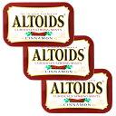 数量限定 訳あり 半額 ALTOIDS アルトイズ ミントタブレット シナモン 50g×3個セット