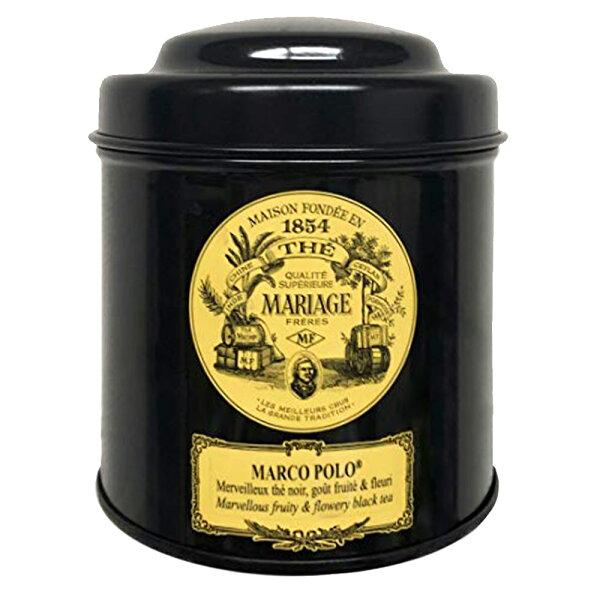 マリアージュフレールマルコポーロ100g茶葉リーフティ紅茶フランス