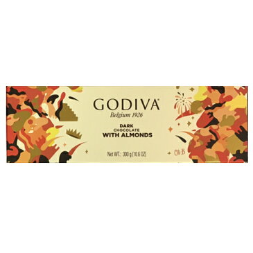 数量限定 訳ありGODIVA (ゴディバ) タブレット ダークアーモンド 300g 全包装