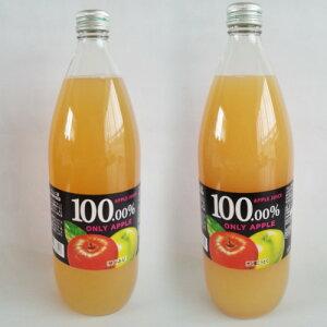 【産地直送 自然栽培の薄井農園 福島産】りんご農家が作った100%無添加りんごジュース 1,00...