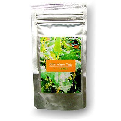 SlimViewTea yacon achene beauty green tea 10P04Aug13