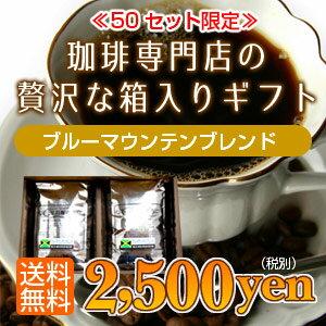 送料無料!香り高いブルーマウンテンブレンド500g(250g×2)※数量限定
