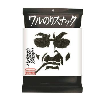 ミラクル9で紹介 ワルのりスナック お好み焼き味 1袋 丸徳海苔株式会社