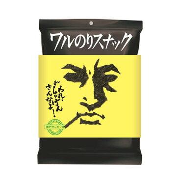 ミラクル9で紹介 ワルのりスナック(瀬戸内レモン味) 12袋 丸徳海苔株式会社