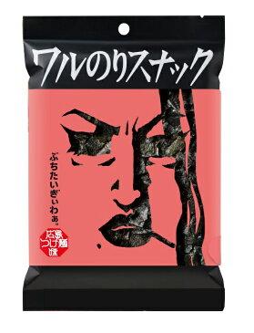 ミラクル9で紹介 ワルのりスナック 広島つけ麺味 1袋 丸徳海苔株式会社