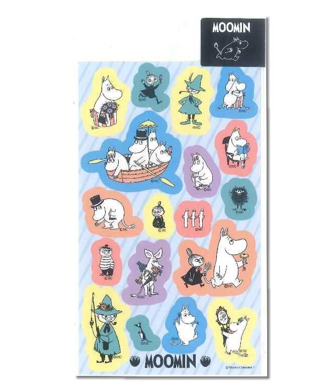 【楽天市場】ムーミン シール みんな M022-41 【Moomin ...