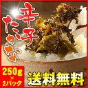 【スーパーSALE】1パック250g入り×2パック!!九州・福岡発【博多久松謹製】辛子たかな辛子高菜は代金引換の選択できません。