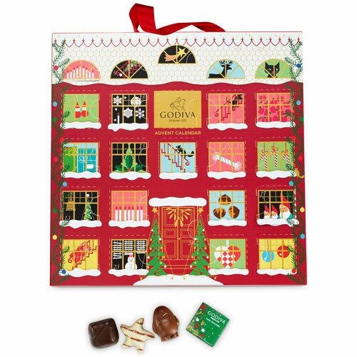 「ゴディバ」チョコレート アドベントカレンダー