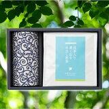 お中元御中元ギフト水出し煎茶藍染缶ご贈答緑茶冷茶ティーバッグ