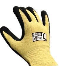 川西工業耐切創性手袋バイオグリップケブラー(#2524L)Lサイズ1双BIOGRIPMadeofDupontKEVLAR