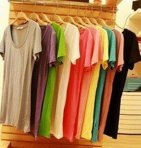 Simple colorful short sleeve shirt T shirt