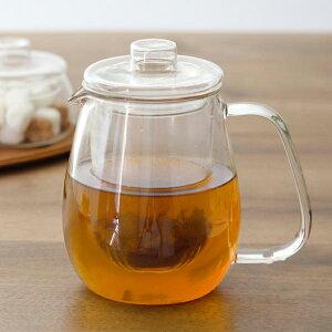 ティーポット ガラス 720ml KINTO キントー ユニティ UNITEA 耐熱ガラス製 ガラス蓋 茶こし付き
