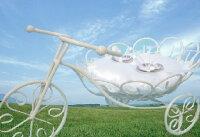 幸せ運ぶ三輪車のリングピロー【結婚式 自転車 ツーリング】