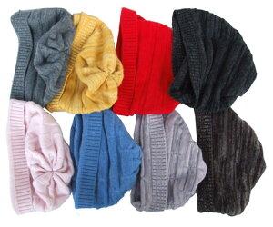 100%カシミヤ ニット帽子 8color