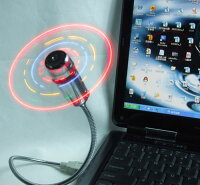 USB LED 扇風機