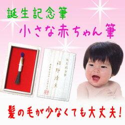 誕生記念筆 小さな赤ちゃん筆 【誕生記念筆・赤ちゃん筆・ベビー・髪の毛・出産祝い・記念品・メ...