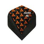TARGET(ターゲット) VISION ULTRA GHOSTフライト AGORA(アゴラ) スタンダード オレンジ <332650> (ダーツ フライト ダーツ 羽 darts flight)