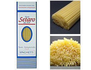 setaro(セターロ)社500gスパゲッティ1.8mm一箱※日本語風に読むと「セタロ」