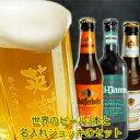 ビール ジョッキ 名入れと厳選ビール330ml×3本のセット北海道沖縄以外送料無料ギフト ビール 飲...