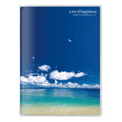 ハクバ 写真 フォトアルバム Pポケットアルバム NP ポストカードサイズ 20枚収納 海と鳥