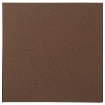 ハクバ 革調SQ台紙 No.272 6切サイズ 2面(角×2枚) ブラウン M272-BRSQ6-2 4977187637526 写真台紙 プレゼント 贈り物 ペーパーフレーム