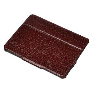 スタンドにもなるiPadケースHAKUBA ピクスギア iPad プロテクティブケース カラー: クロコレッド