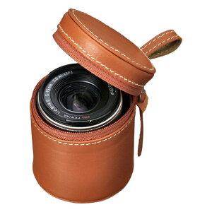 ハクバのPENTAX Q専用 本革レンズケースHAKUBA 本革レンズケース PENTAX Q用 カラー:キャメル