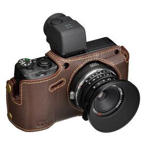 あなたのカメラをドレスアップ。RICOH GXR MOUNT A12専用のお洒落な本革ボディスーツHAKUBA 本...