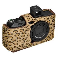 あなたのカメラをドレスアップ。本革ボディスーツ RICOH GR DIGITAL IV専用9色の豊富なカラーバ...