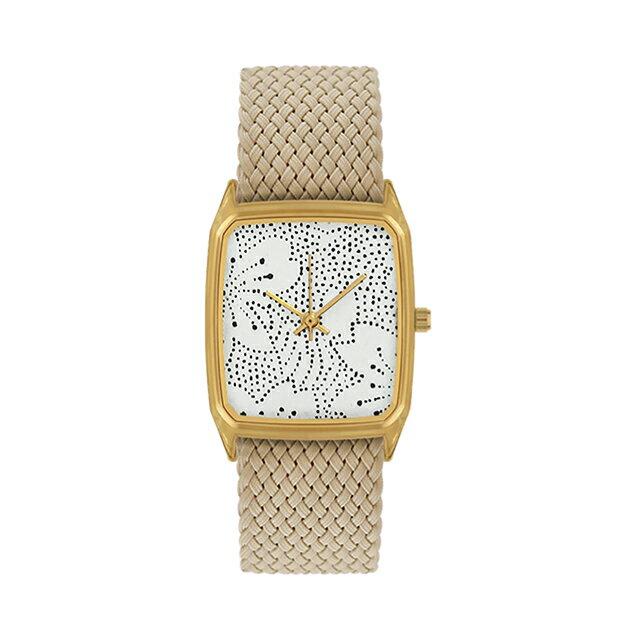 ラプスLAPS菊ベージュKiku26mmBeige腕時計メンズレディース