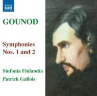 グノー/交響曲第1番、第2番ガロワ&シンフォニア・フィンランディア輸入盤【CD】