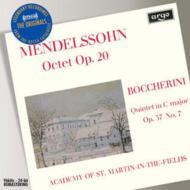 Mendelssohnメンデルスゾーン/八重奏曲、他ASMF輸入盤【CD】