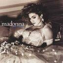 Madonna (マドンナ)のカラオケ人気曲ランキング第2位 シングル曲「Like A Virgin」のジャケット写真。
