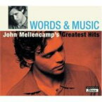 John Cougar Mellencamp ジョンクーガーメレンキャンプ / Words & Music: Greatest Hits 輸入盤 【CD】