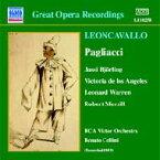 Leoncavallo レオンカバッロ / 『道化師』全曲 チェッリーニ&RCAビクター管、ビョルリンク、ロス・アンヘレス、他(1953 モノラル) 輸入盤 【CD】