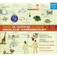 【送料無料】 Haydn ハイドン / オラトリオ『天地創造』全曲 アーノンクール指揮ウィーン・コンツェントゥス・ムジクス 【CD】