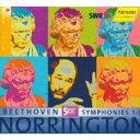 【送料無料】Beethoven ベートーヴェン / 交響曲全集 ノリントン&シュトゥットガルト放送響(5CD+特典盤) 輸入盤 【CD】