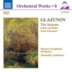 Glazunov グラズノフ / 「四季」Op.67 / 「バレエの情景」Op.52 / 他 アニシモフ / モスクワ響 輸入盤 【CD】